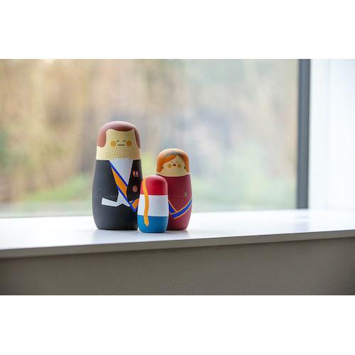 Dutch Royalties - Expressions - Nesting Dolls
