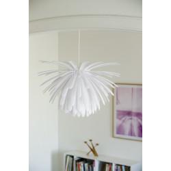 Snowflower Pendant - White