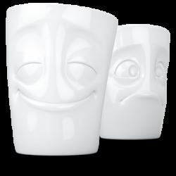 350ml Mug set no.2 - Cheery & Baffled