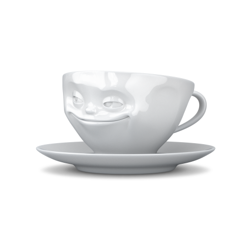 Coffee Cup - grinning
