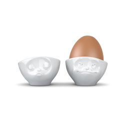 Egg Cup Set No.1 - kissing/dreamy