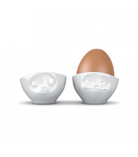 Egg Cup Set No.1 - kissing & dreamy