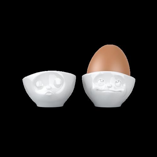 Egg Cup Set No.1 - kissing & dreamy